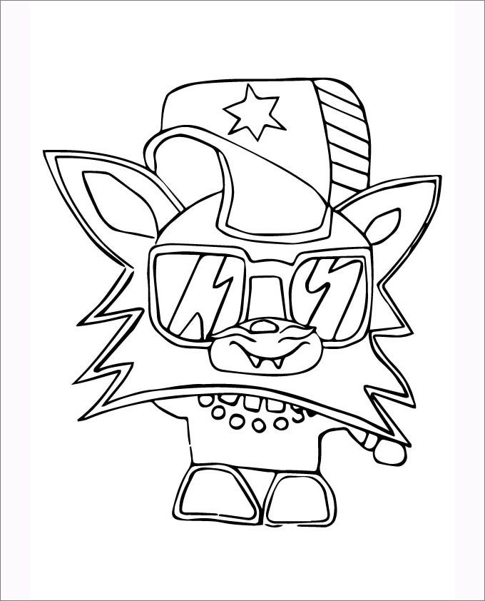 moshi monsters coloring star