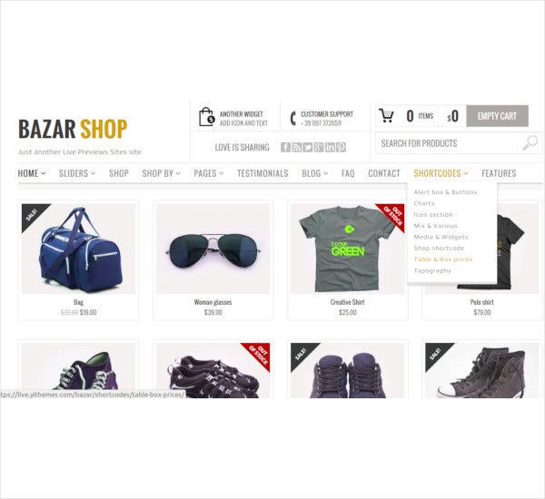 multi purpose e commerce theme