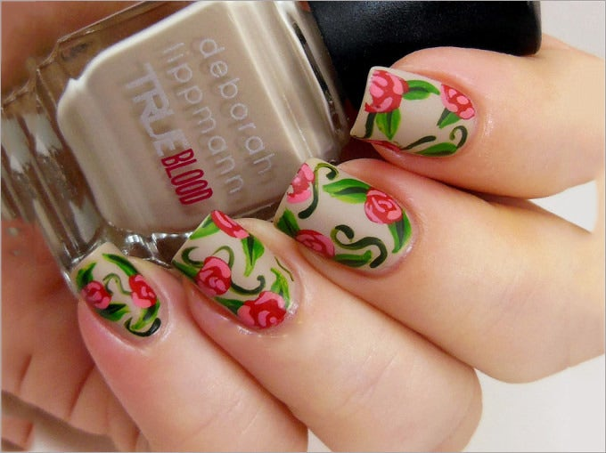 30 Mesmerizing Nail Polish Design Ideas 2015 Free Premium Templates