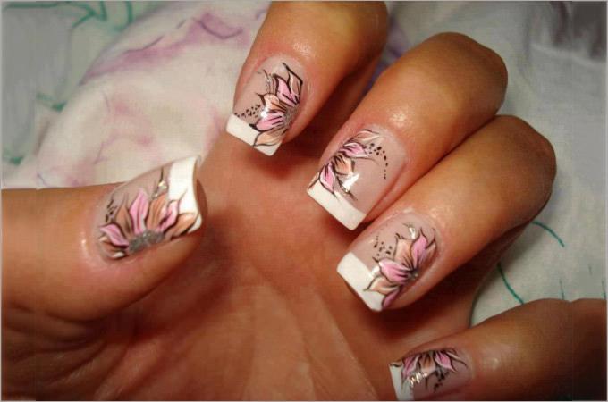 nail polish design at home