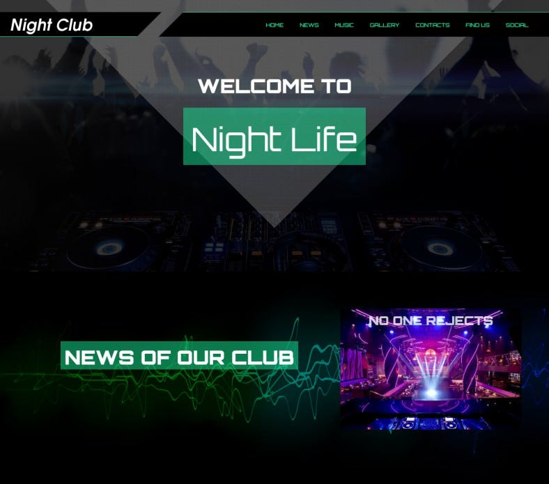 night club wordpress theme 788x695