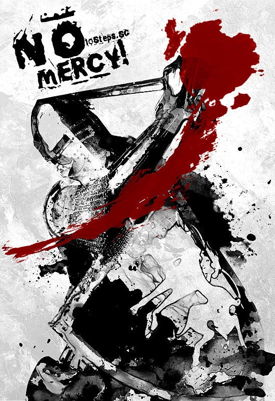 No-Mercy-Poster-Making-Tutorials