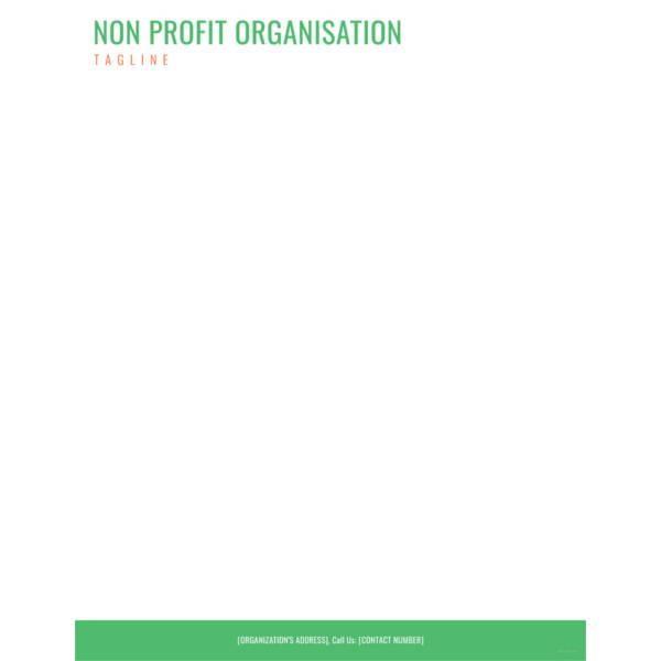 non-profit-organization-letterhead-templatefree-download