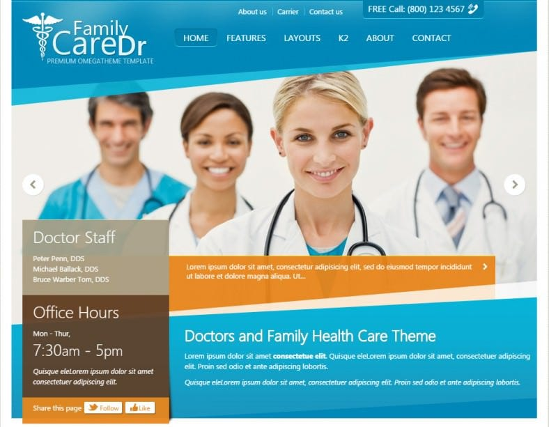 ot family doctor joomla theme 788x613