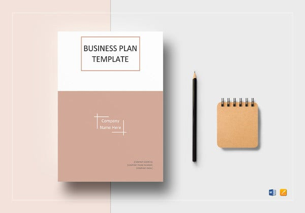 one page business plan template1