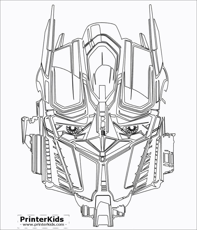 optimuse prime face