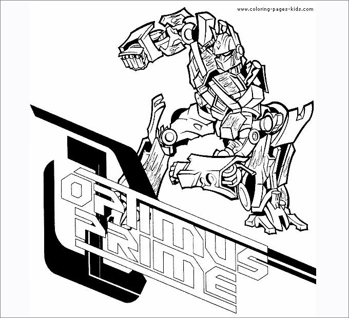 prime transformers - Transformers Coloring Pages