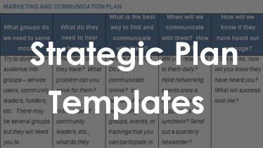 outline strategic plans on strategic plan templates