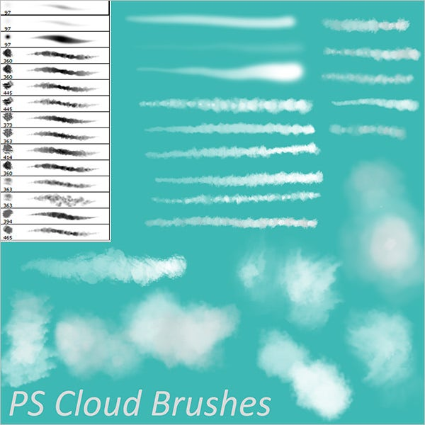 ps cloud brushes
