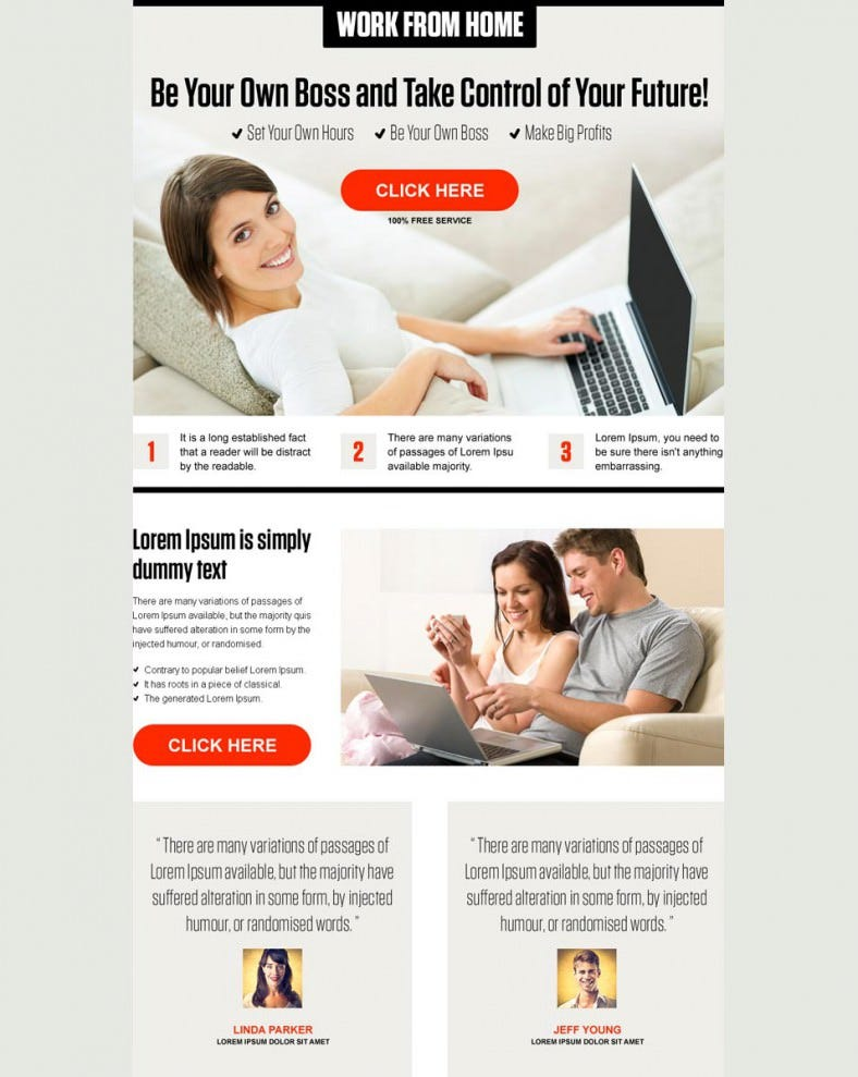 pay per click landing page design preview 788x989