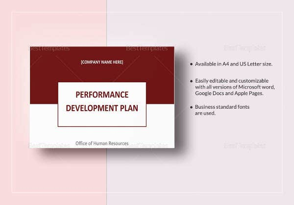 performance development plan template2