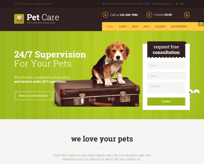 pet care wordpress template1 788x636
