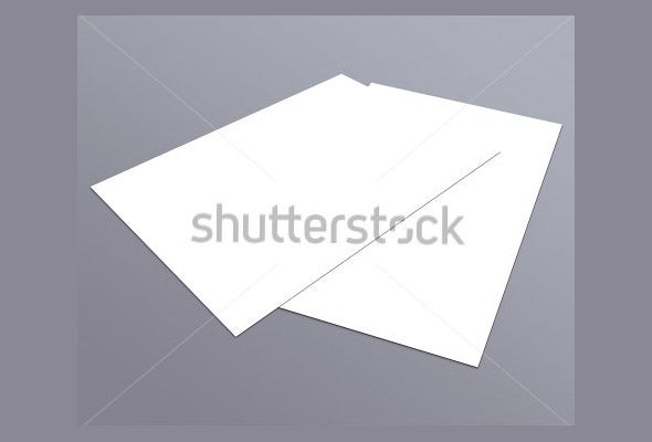 plain postcard flyer template