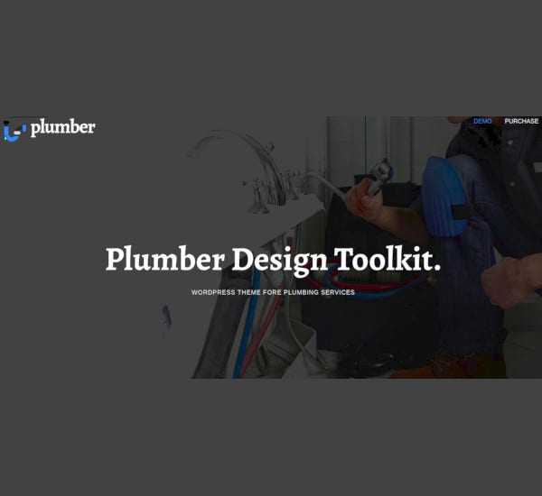plumber pro construction wordpress theme