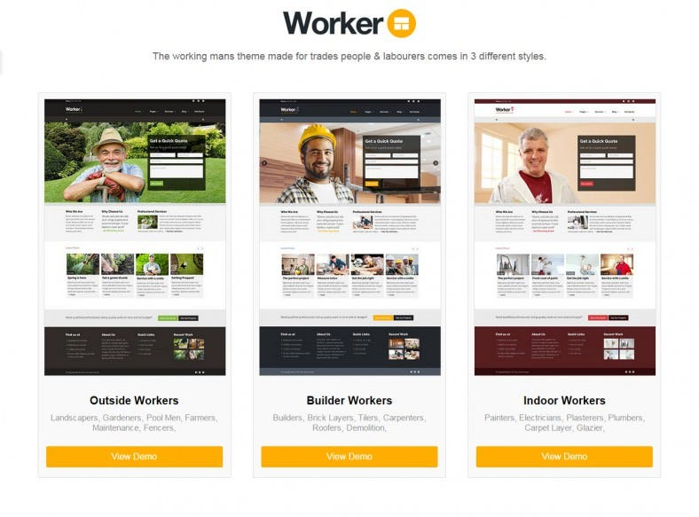 Realtor Company WordPress Theme Template Monster - oukas.info