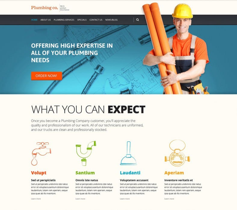 plumbing services wordpress theme 75 788x698