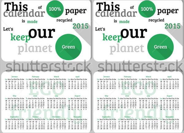25 Pocket Calendar Templates Free Psd Vector Eps Png Format