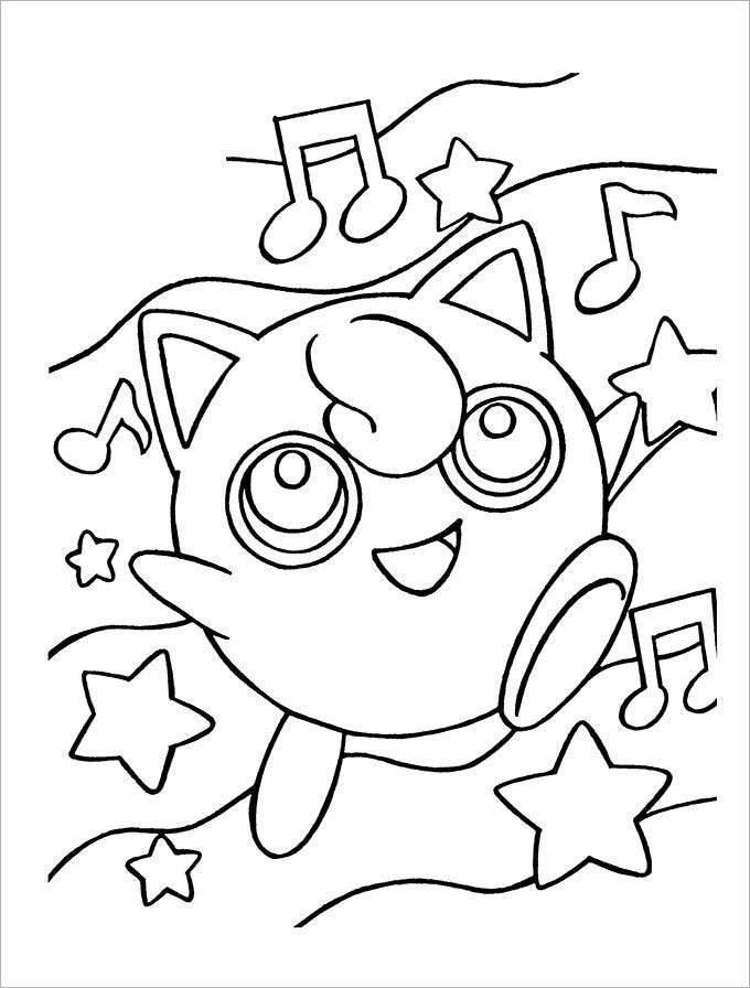 Pokemon Coloring Pages 30 Free Printable Jpg Pdf Format Download
