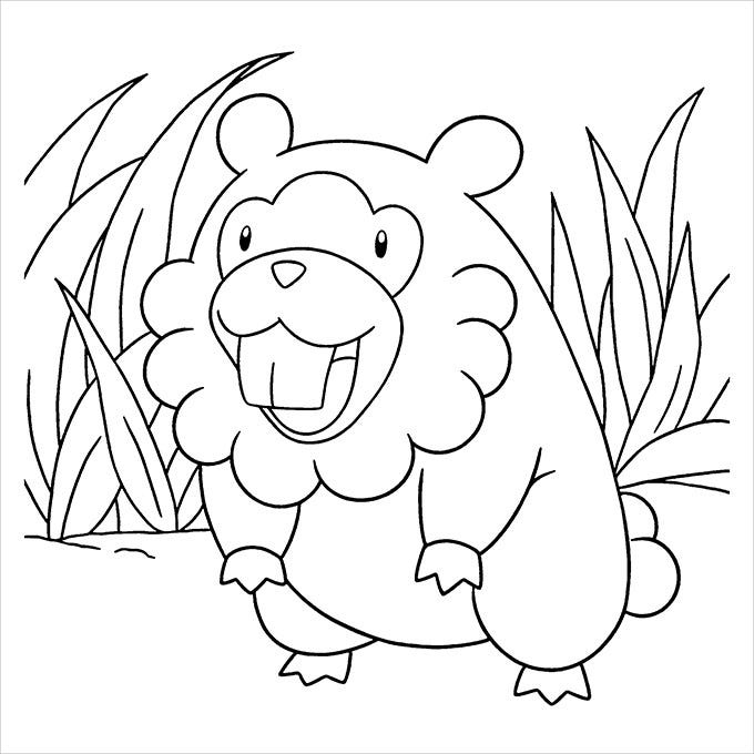 Pokemon coloring pages 30 free printable jpg pdf for All pokemon coloring pages