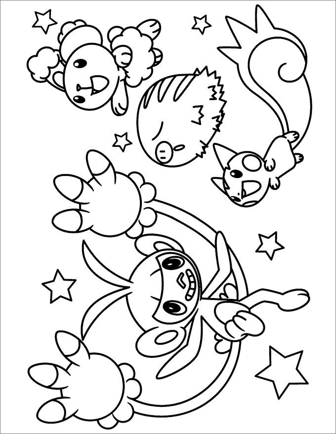 Coloring Pages : Printable Coloring Pages For Boys Pokemon ... | 878x680