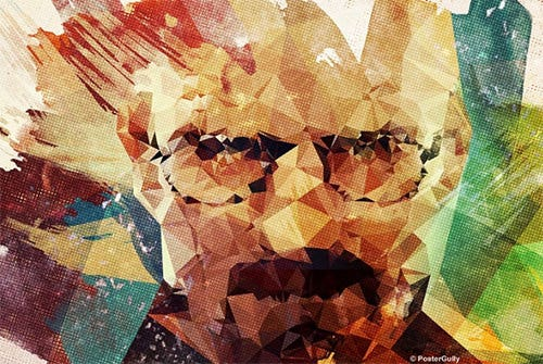 polygonal breaking bad psd poster