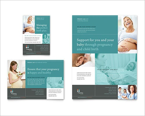 Pregnency Word Flyer Template And Flyer Format Word