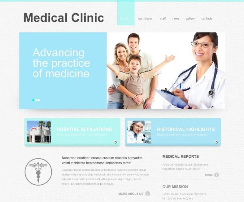 Premium Doctor Joomla Template 67 788x652
