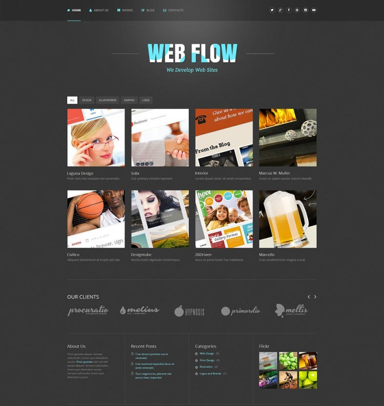 premium web developer wordpress template 45 788x833