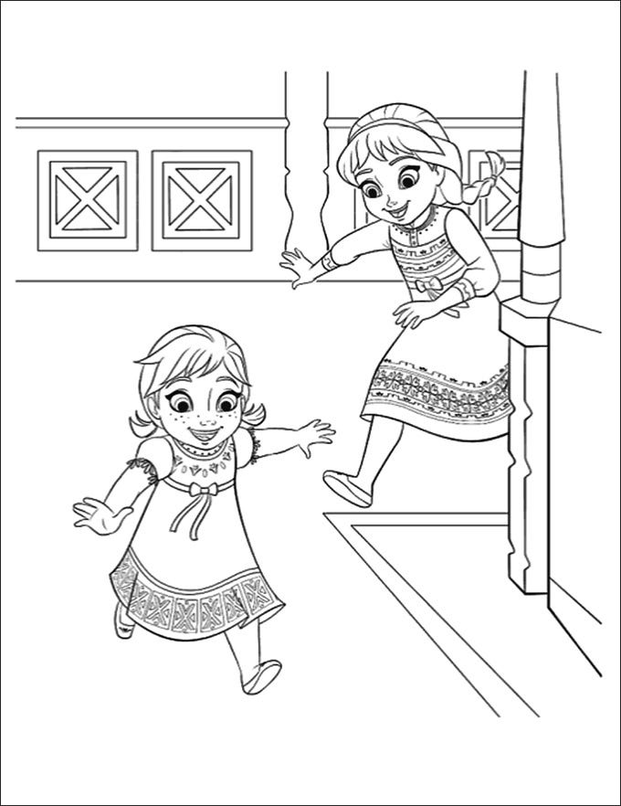 FREE 14+ Frozen Coloring Pages in AI | PDF | 882x680