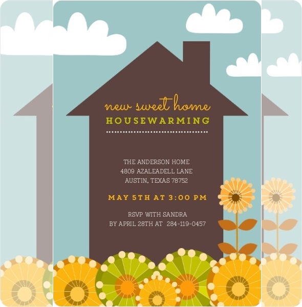 image relating to Free Printable Housewarming Invitations named 35+ Housewarming Invitation Templates - PSD, Vector EPS, AI