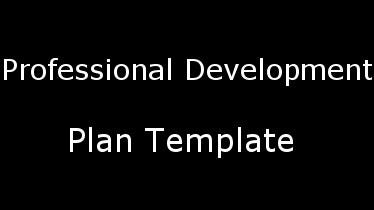 professionaldevelopmentplantemplates