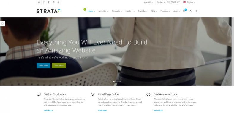 Professional Multi-Purpose WordPress Theme