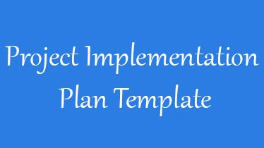 Project Implementation Plan Template 6 Free Word Excel Documents Download Free Premium Templates