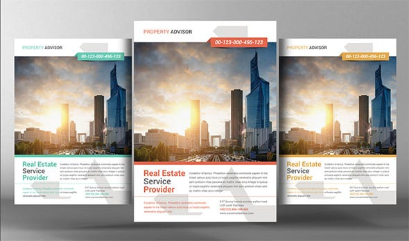 Property Advisor Open Flyer Template  Open House Flyer Template
