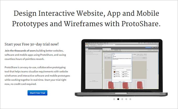protoshare ux design tool