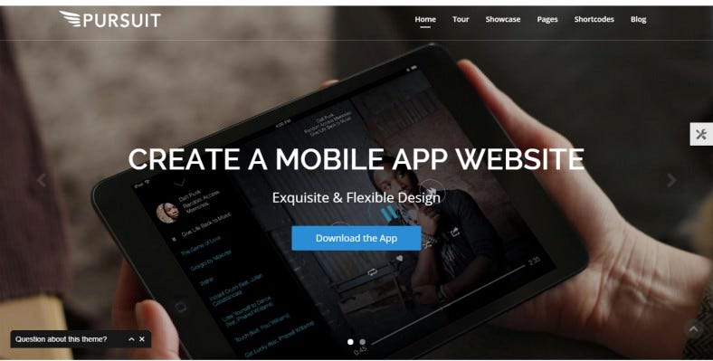 Flexible Apps WordPress Theme
