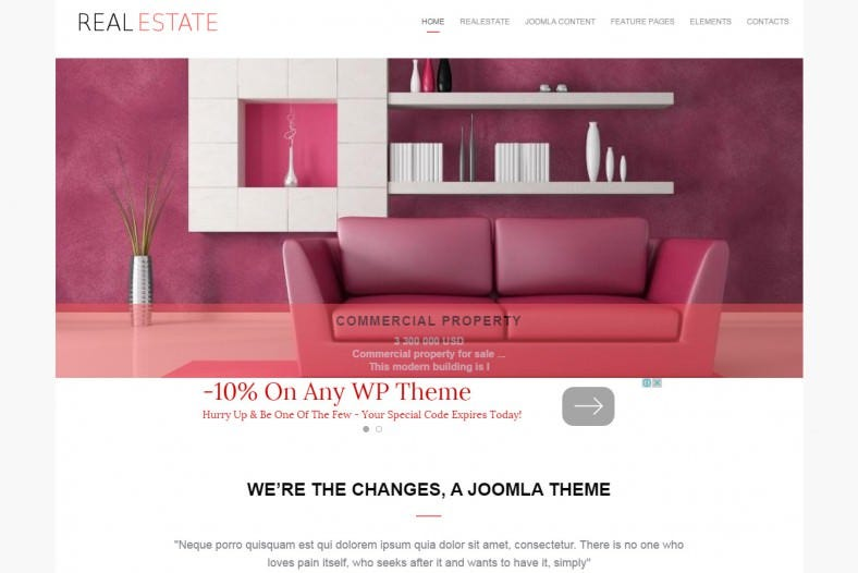 real estate broker joomla template1 788x526