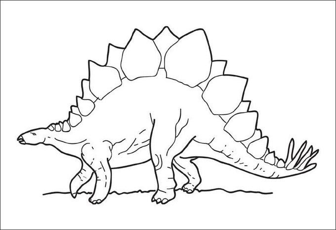 25 dinosaur coloring pages free