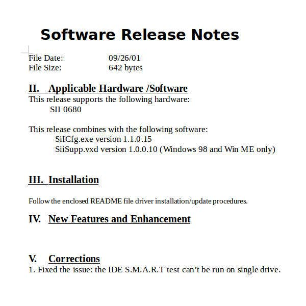 release note template download
