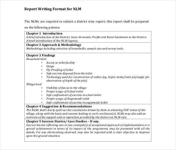 report-writing-format