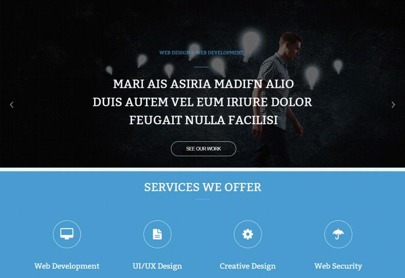 responsive artist portfolio joomla theme 59 788x541