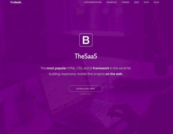 responsive bootstrap startup webapp template