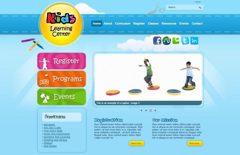 responsive kindergarten joomla template 62 788x508