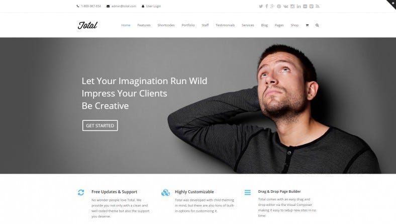responsive multi purpose wordpress theme 788x445