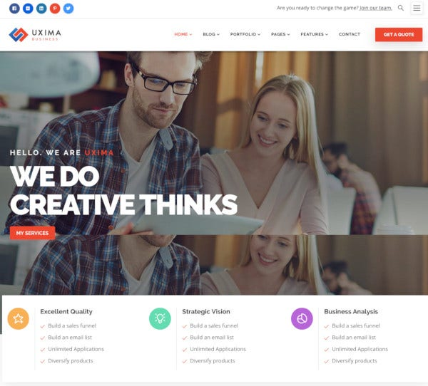 responsive multipurpose business drupal 8