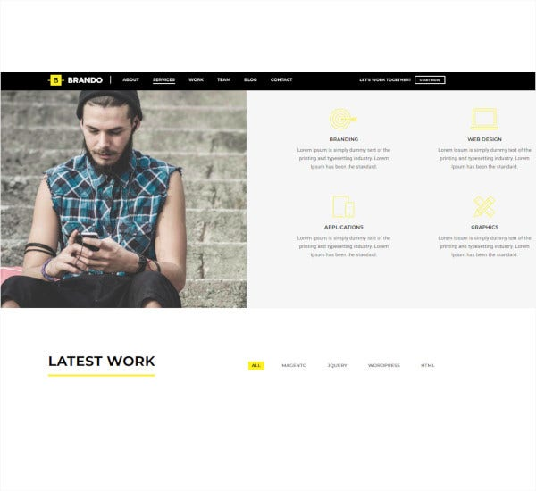 responsive multipurpose onepage wordpress theme