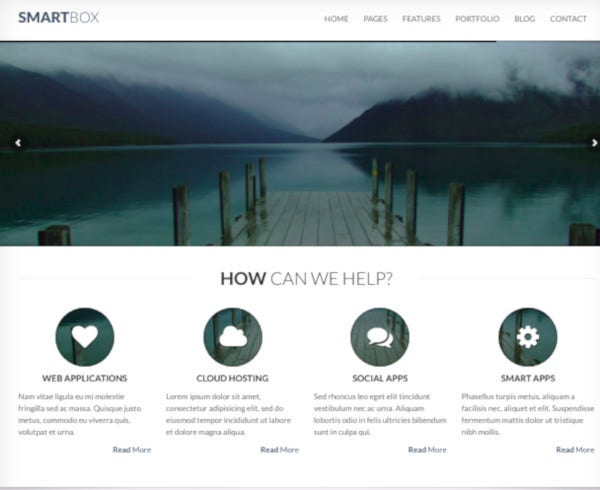 responsive wordpress bootstrap theme