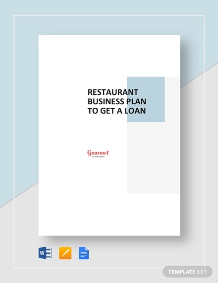 19+ Restaurant Business Plan Templates -Word, PDF | Free & Premium