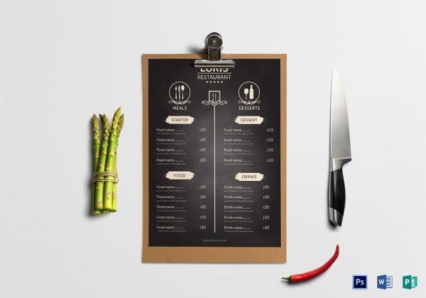 restaurant-front-menu
