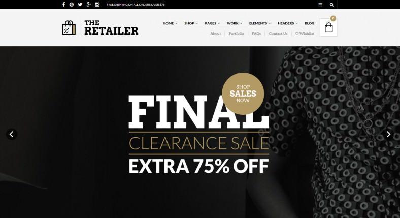retailer responsive wordpress theme 788x429